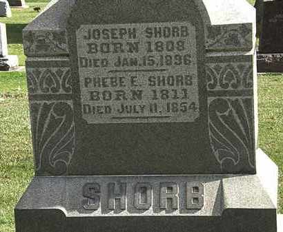 SHORB, JOSEPH - Morrow County, Ohio | JOSEPH SHORB - Ohio Gravestone Photos