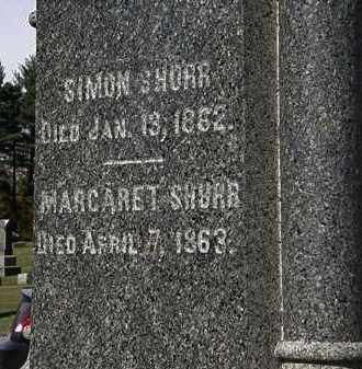 SHURR, SIMON - Morrow County, Ohio | SIMON SHURR - Ohio Gravestone Photos
