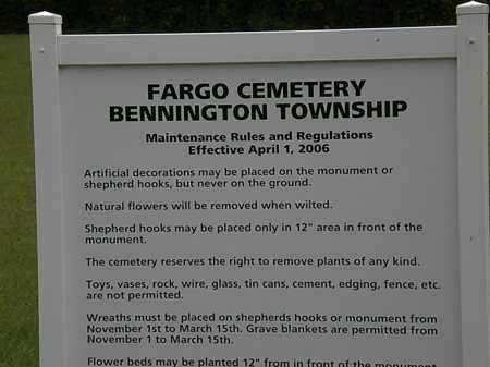 SIGN, CEMETERY - Morrow County, Ohio | CEMETERY SIGN - Ohio Gravestone Photos