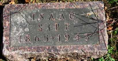 SIPE, ISAAC - Morrow County, Ohio | ISAAC SIPE - Ohio Gravestone Photos