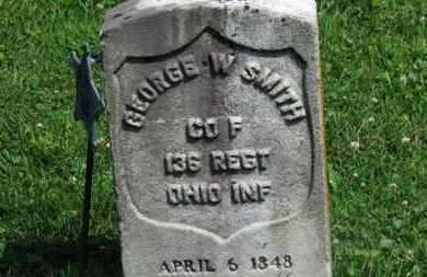 SMITH, GEORGE W. - Morrow County, Ohio | GEORGE W. SMITH - Ohio Gravestone Photos
