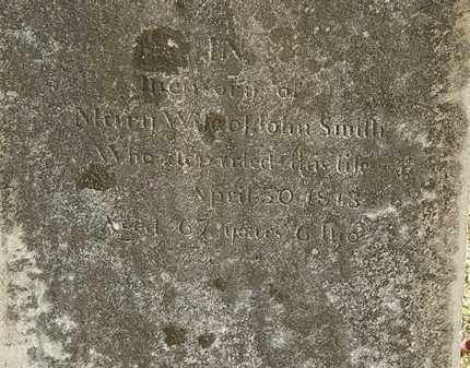 SMITH, MARY - Morrow County, Ohio | MARY SMITH - Ohio Gravestone Photos