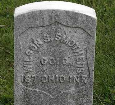 SMOTHERS, WILSON S. - Morrow County, Ohio | WILSON S. SMOTHERS - Ohio Gravestone Photos