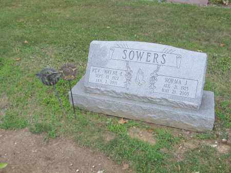 SOWERS, WAYNE - Morrow County, Ohio | WAYNE SOWERS - Ohio Gravestone Photos