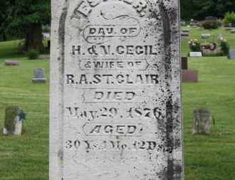 CECIL, N. - Morrow County, Ohio | N. CECIL - Ohio Gravestone Photos