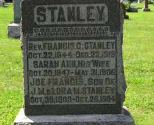 STANLEY, JOE FRANCIS - Morrow County, Ohio | JOE FRANCIS STANLEY - Ohio Gravestone Photos