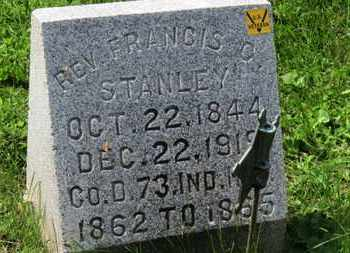 STANLEY, REV. FRANCIS C. - Morrow County, Ohio | REV. FRANCIS C. STANLEY - Ohio Gravestone Photos
