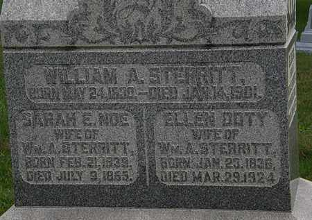 STERRITT, WILLIAM A. - Morrow County, Ohio | WILLIAM A. STERRITT - Ohio Gravestone Photos