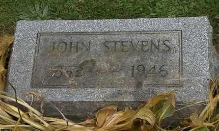 STEVENS, JOHN - Morrow County, Ohio | JOHN STEVENS - Ohio Gravestone Photos