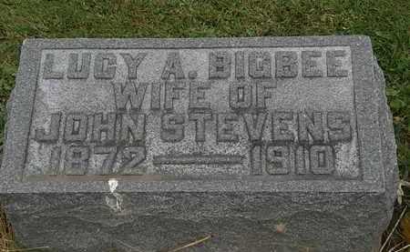 STEVENS, LUCY A. - Morrow County, Ohio | LUCY A. STEVENS - Ohio Gravestone Photos