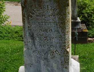 STEVENSON, C.J. - Morrow County, Ohio | C.J. STEVENSON - Ohio Gravestone Photos