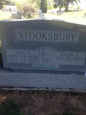 ANNETT STOOKSBURY, JANE - Morrow County, Ohio | JANE ANNETT STOOKSBURY - Ohio Gravestone Photos