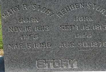 STORY, MARY R. - Morrow County, Ohio | MARY R. STORY - Ohio Gravestone Photos
