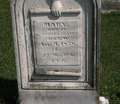 SWANEY, MARY - Morrow County, Ohio | MARY SWANEY - Ohio Gravestone Photos