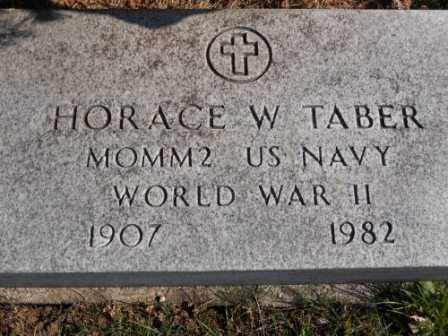TABER, HORACE W - Morrow County, Ohio | HORACE W TABER - Ohio Gravestone Photos