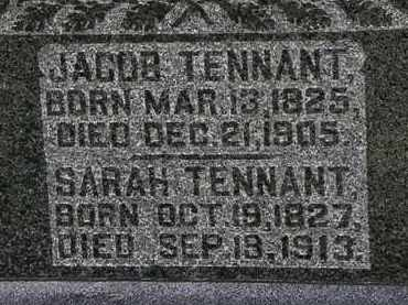 TENNANT, JACOB - Morrow County, Ohio | JACOB TENNANT - Ohio Gravestone Photos