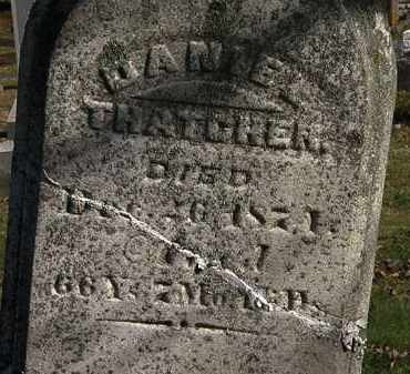 THATCHER, DANIEL - Morrow County, Ohio | DANIEL THATCHER - Ohio Gravestone Photos