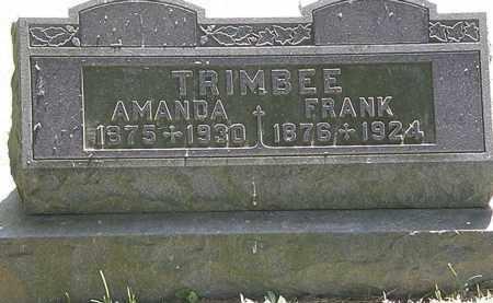 TRIMBEE, FRANK - Morrow County, Ohio | FRANK TRIMBEE - Ohio Gravestone Photos