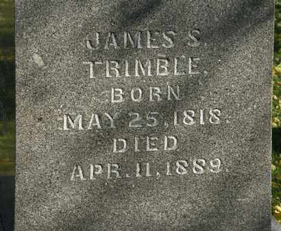 TRIMBLE, JAMES S. - Morrow County, Ohio | JAMES S. TRIMBLE - Ohio Gravestone Photos