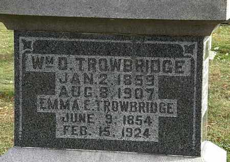 TROWBRIDGE, WM. D. - Morrow County, Ohio | WM. D. TROWBRIDGE - Ohio Gravestone Photos