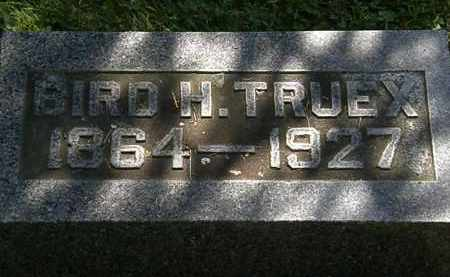 TRUEX, BIRD H. - Morrow County, Ohio | BIRD H. TRUEX - Ohio Gravestone Photos