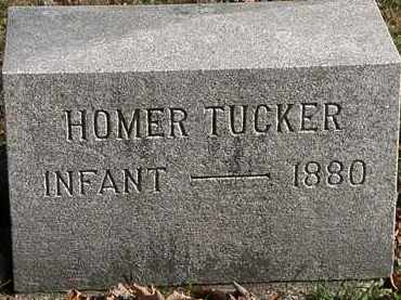 TUCKER, HOMER - Morrow County, Ohio | HOMER TUCKER - Ohio Gravestone Photos