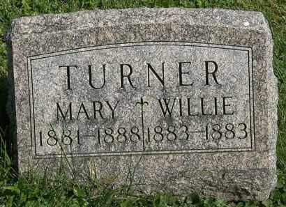 TURNER, MARY - Morrow County, Ohio | MARY TURNER - Ohio Gravestone Photos