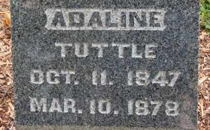 TUTTLE, ADALINE - Morrow County, Ohio | ADALINE TUTTLE - Ohio Gravestone Photos