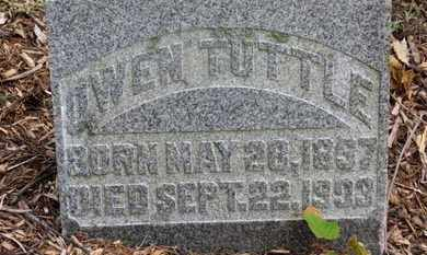 TUTTLE, OWEN - Morrow County, Ohio | OWEN TUTTLE - Ohio Gravestone Photos