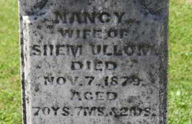 ULLOM, NANCY - Morrow County, Ohio | NANCY ULLOM - Ohio Gravestone Photos