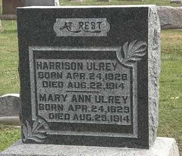 ULREY, HARRISON - Morrow County, Ohio | HARRISON ULREY - Ohio Gravestone Photos