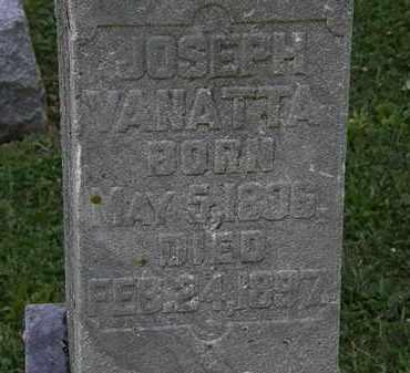 VANATTA, JOSEPH - Morrow County, Ohio | JOSEPH VANATTA - Ohio Gravestone Photos
