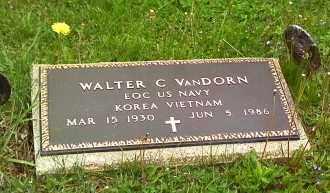 VANDORN, WALTER C - Morrow County, Ohio | WALTER C VANDORN - Ohio Gravestone Photos