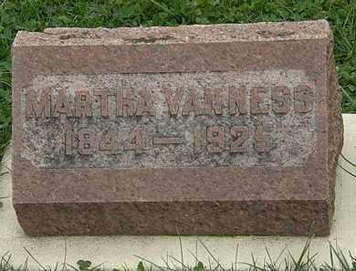 VANESS, MARTHA - Morrow County, Ohio | MARTHA VANESS - Ohio Gravestone Photos
