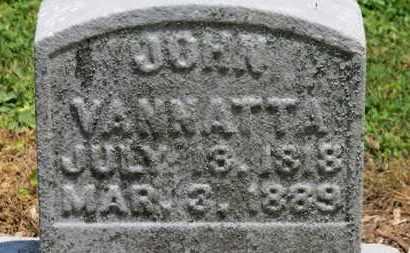 VANNATTA, JOHN - Morrow County, Ohio | JOHN VANNATTA - Ohio Gravestone Photos
