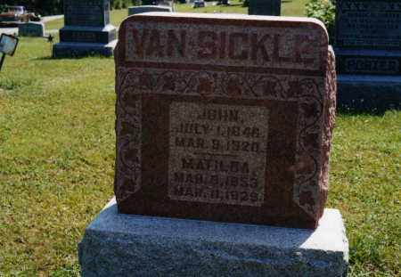 VANSICKLE, JOHN - Morrow County, Ohio | JOHN VANSICKLE - Ohio Gravestone Photos