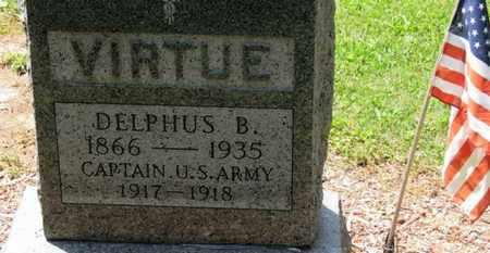 VIRTUE, DELPHUS B. - Morrow County, Ohio | DELPHUS B. VIRTUE - Ohio Gravestone Photos
