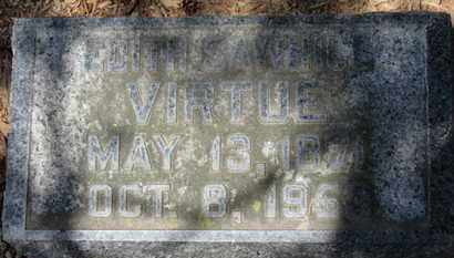 SAWHILL VIRTUE, EDITH - Morrow County, Ohio | EDITH SAWHILL VIRTUE - Ohio Gravestone Photos