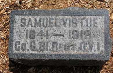 VIRTUE, SAMUEL - Morrow County, Ohio | SAMUEL VIRTUE - Ohio Gravestone Photos
