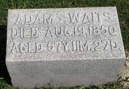 WAITS, ADAM - Morrow County, Ohio | ADAM WAITS - Ohio Gravestone Photos