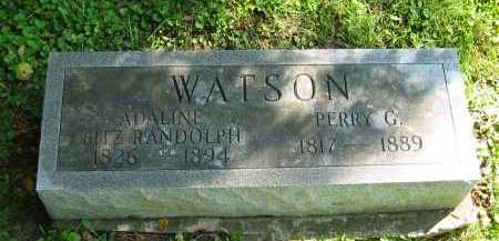 WATSON, PERRY G. - Morrow County, Ohio | PERRY G. WATSON - Ohio Gravestone Photos