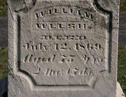 WELSH, WILLIAM - Morrow County, Ohio | WILLIAM WELSH - Ohio Gravestone Photos