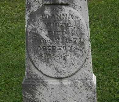 WHITE, DIANNA - Morrow County, Ohio | DIANNA WHITE - Ohio Gravestone Photos