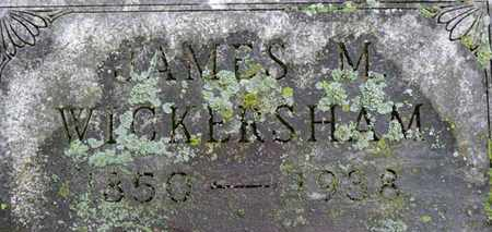 WICKERSHAM, JAMES D. - Morrow County, Ohio | JAMES D. WICKERSHAM - Ohio Gravestone Photos