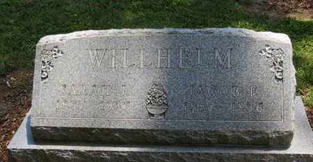 WILHELM, JACOB E. - Morrow County, Ohio | JACOB E. WILHELM - Ohio Gravestone Photos