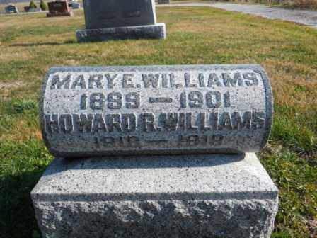 WILLIAMS, HOWARD R - Morrow County, Ohio | HOWARD R WILLIAMS - Ohio Gravestone Photos