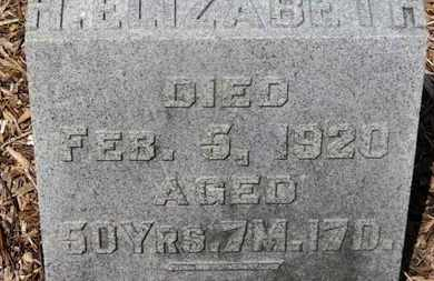 WILLIAMSON, H. ELIZABETH - Morrow County, Ohio | H. ELIZABETH WILLIAMSON - Ohio Gravestone Photos