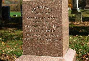 WILLISON, HESSENA - Morrow County, Ohio   HESSENA WILLISON - Ohio Gravestone Photos
