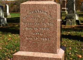 WILLISON, WM. - Morrow County, Ohio | WM. WILLISON - Ohio Gravestone Photos