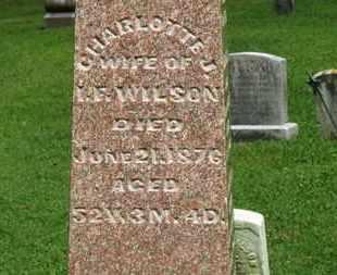 WILSON, CHARLOTTE J. - Morrow County, Ohio | CHARLOTTE J. WILSON - Ohio Gravestone Photos